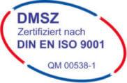 Zertifizierung DIN EN ISO 9001 Qualitätsmanagementsystem